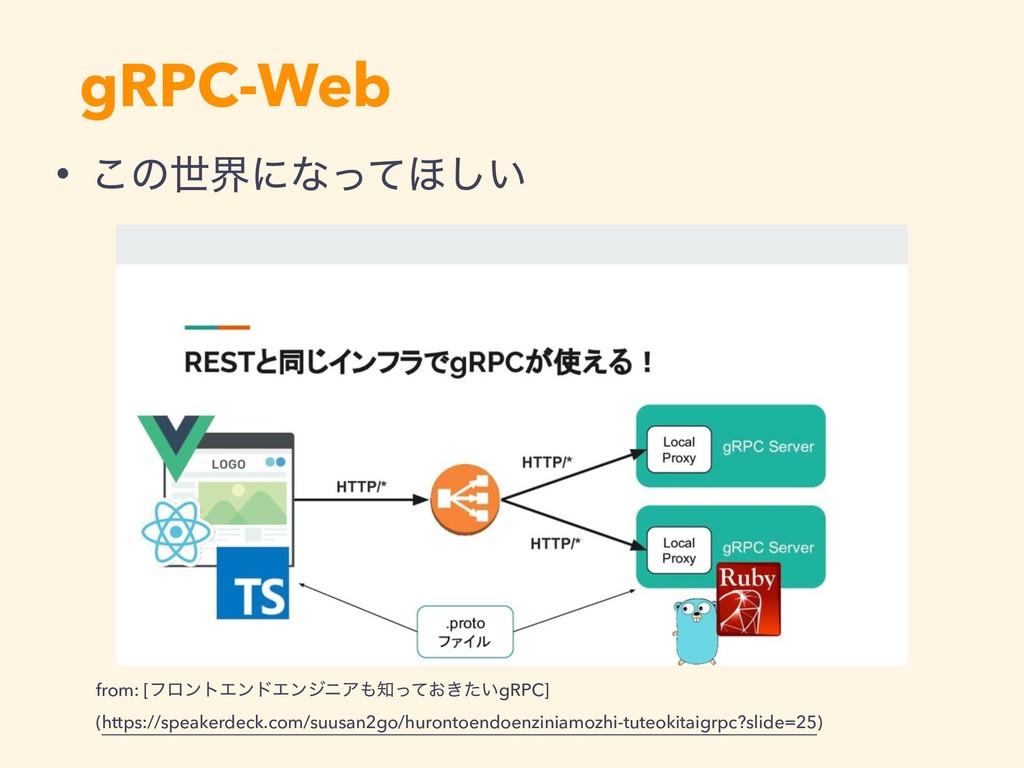 gRPC-Web from: [ϑϩϯτΤϯυΤϯδχΞ͓͖͍ͬͯͨgRPC] (htt...