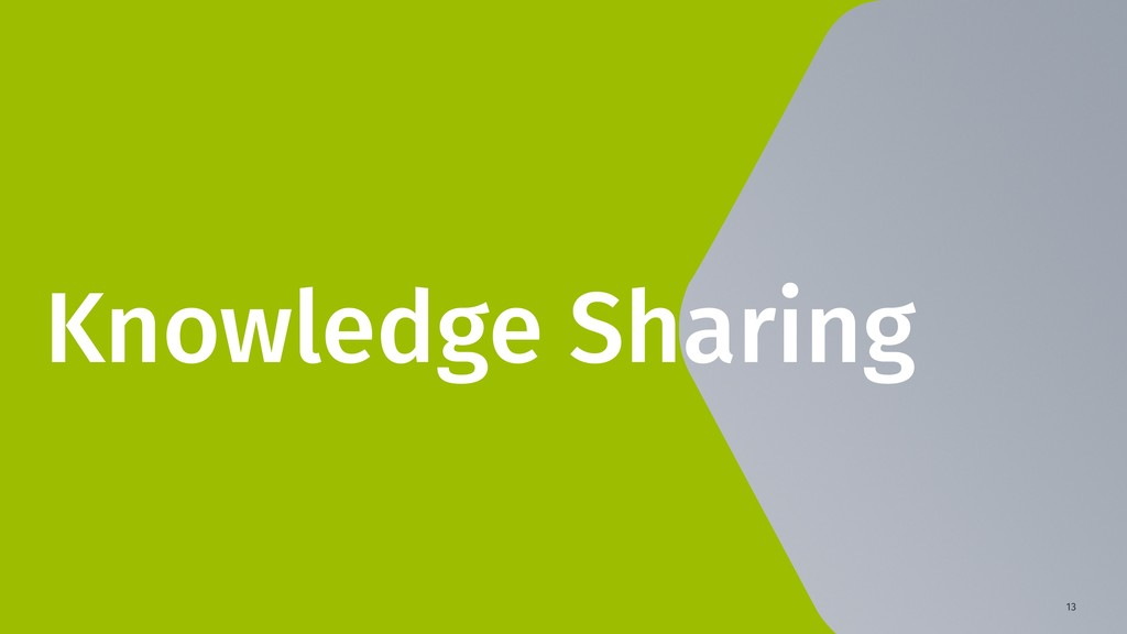 13 Knowledge Sharing
