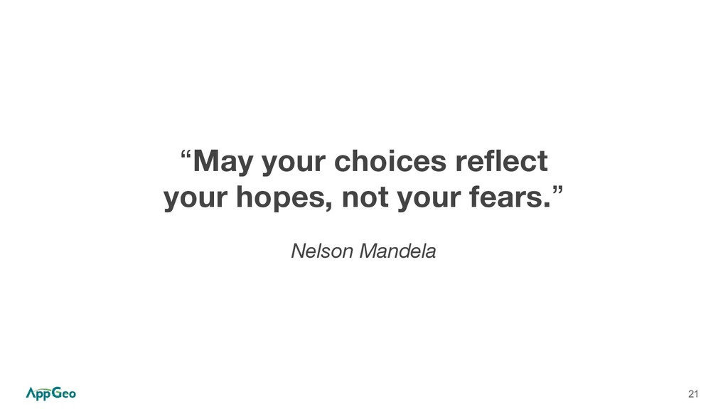 "21 ""May your choices reflect your hopes, not yo..."