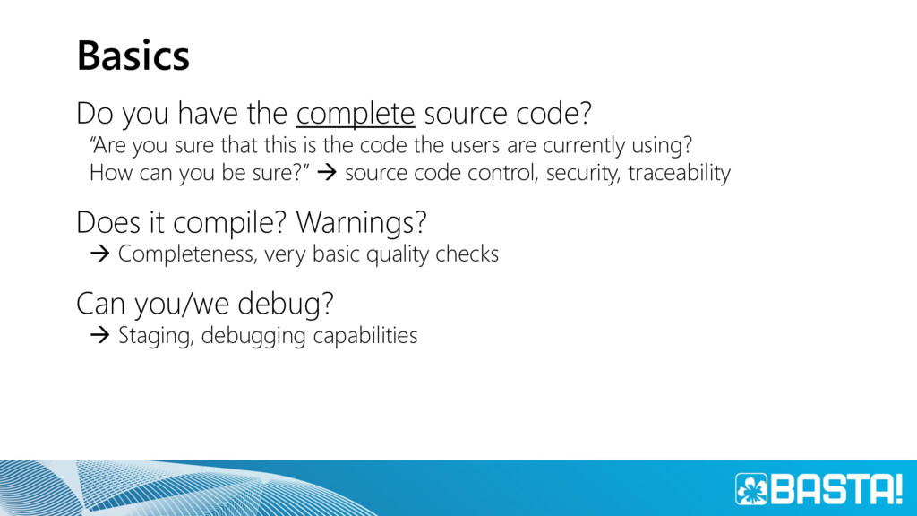 """Basics Do you have the complete source code? """"A..."""