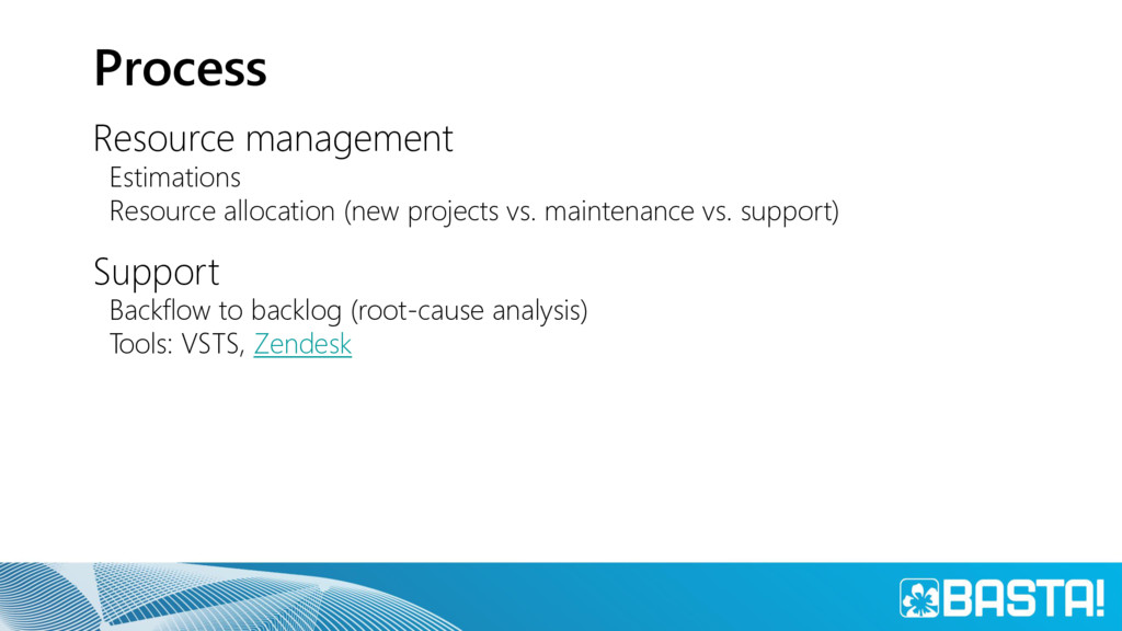 Process Resource management Estimations Resourc...