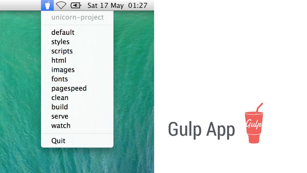 Gulp App