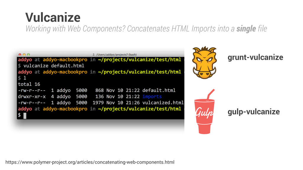 Working with Web Components? Concatenates HTML ...