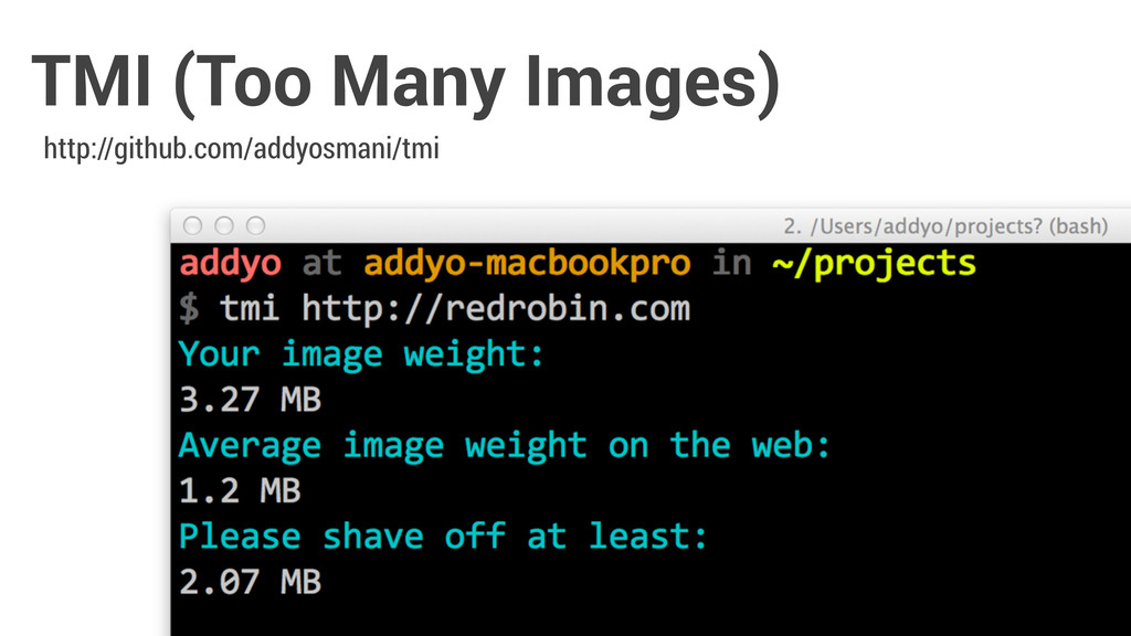 TMI (Too Many Images) http://github.com/addyosm...