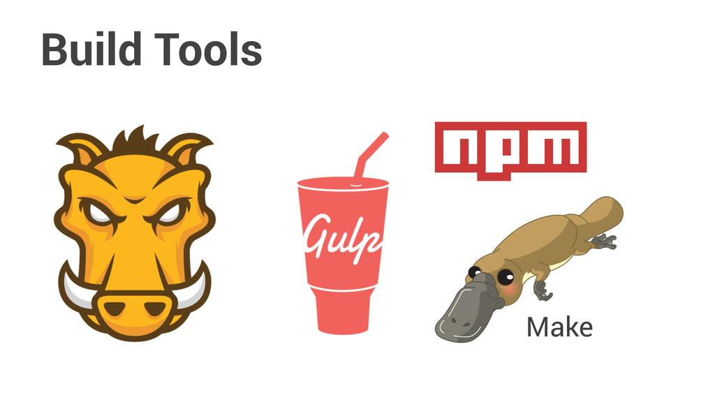 Build Tools Make