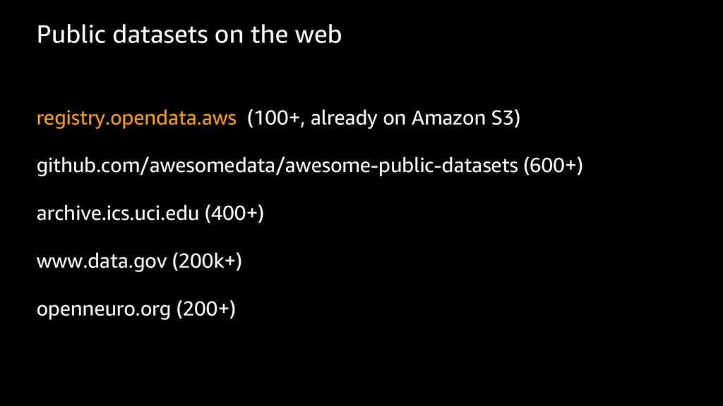 Public datasets on the web registry.opendata.aw...