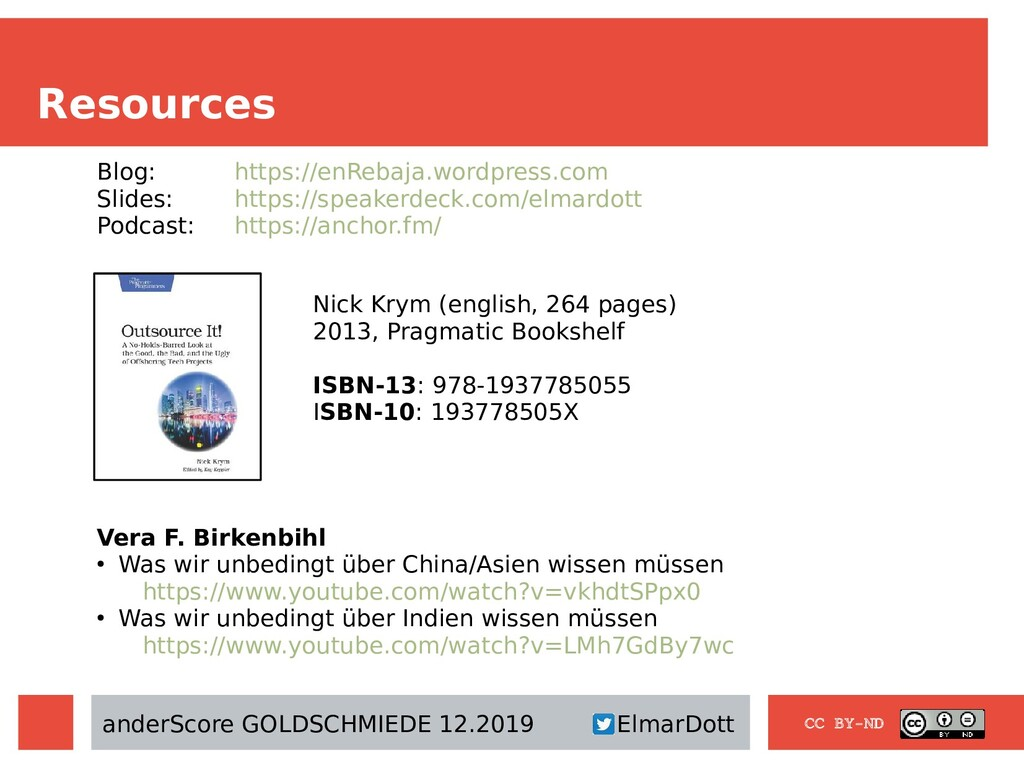 Resources CC BY-ND Nick Krym (english, 264 page...
