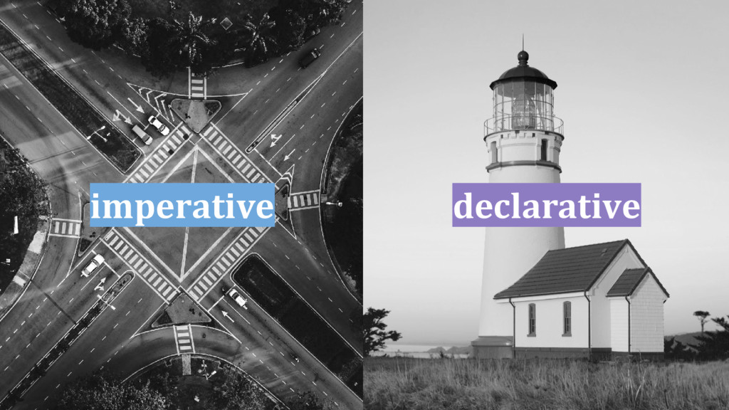 imperative declarative