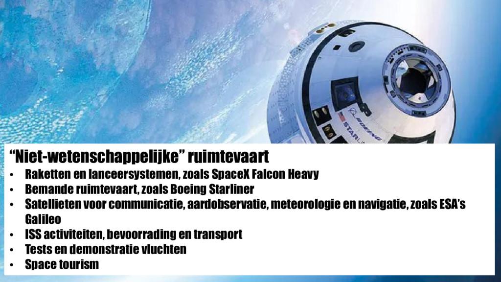 """""""Niet-wetenschappelijke"""" ruimtevaart • Raketten..."""