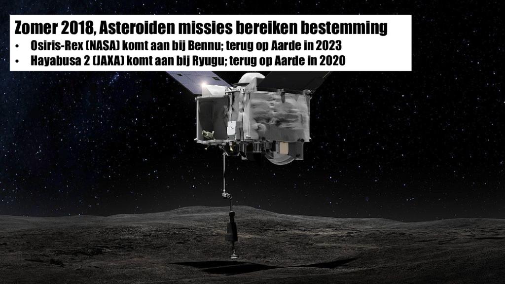 Zomer 2018, Asteroiden missies bereiken bestemm...