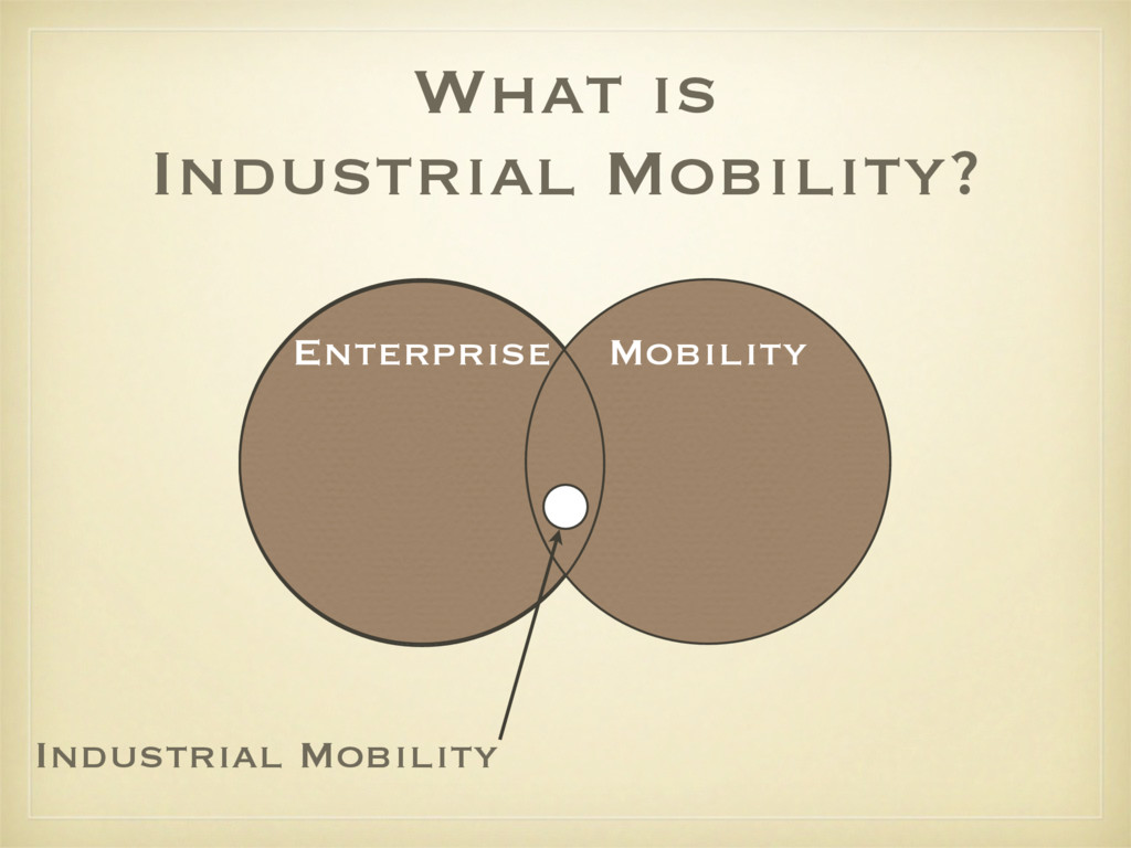 What is Industrial Mobility? Enterprise Mobilit...