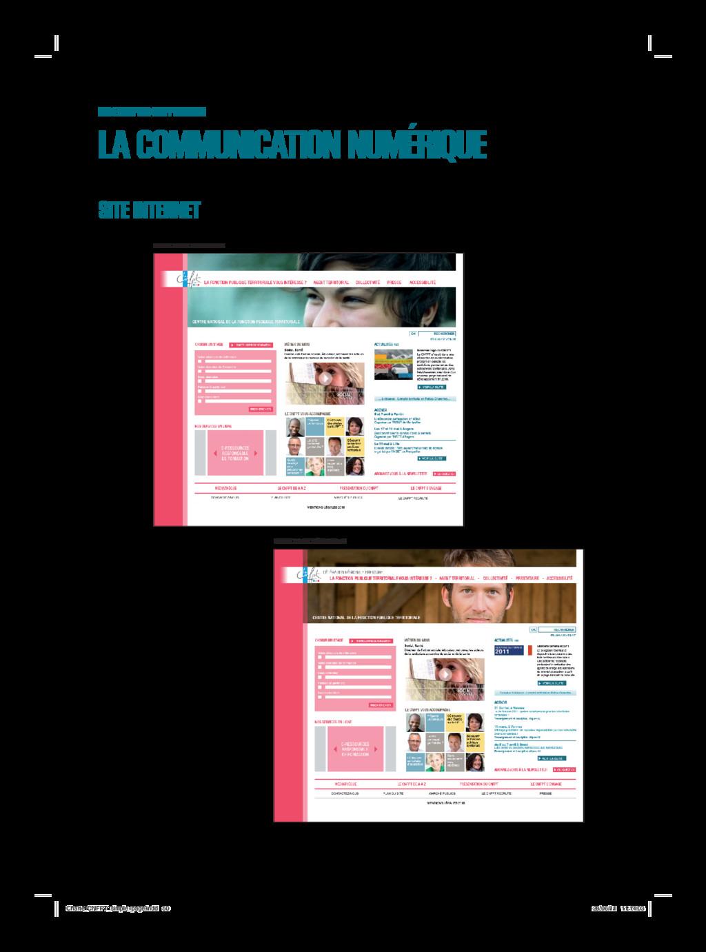SITE INTERNET LES EXEMPLES D'APPLICATION LA COM...