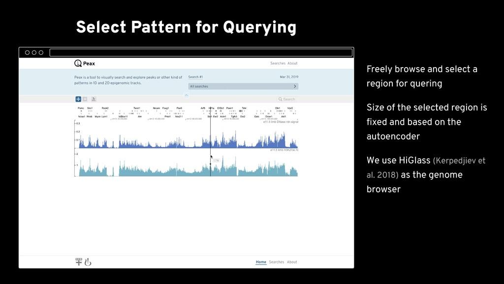 Select Pattern for Querying Initial Sampling Bi...