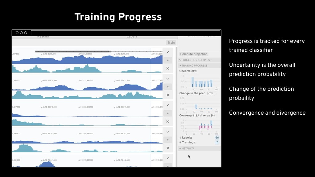 Training Progress Embedding View Resolve Conflic...