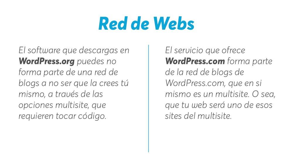 El servicio que ofrece WordPress.com forma part...