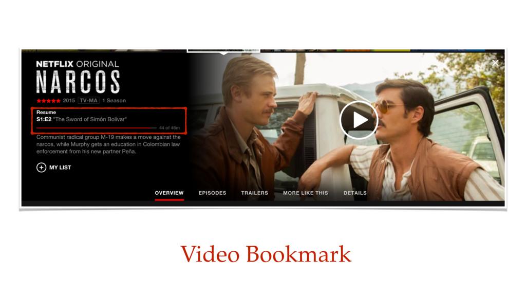 Video Bookmark