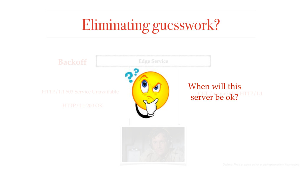 Eliminating guesswork? Disclaimer: This is an e...