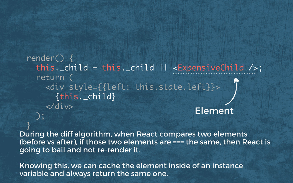 render() { this._child = this._child    <Expens...