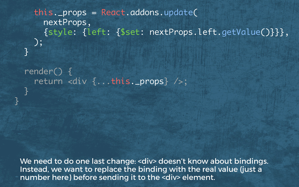 this._props = React.addons.update( nextProps,...