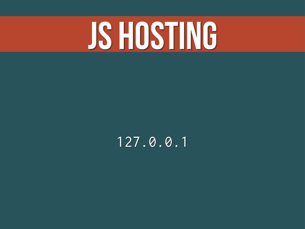 JS Hosting