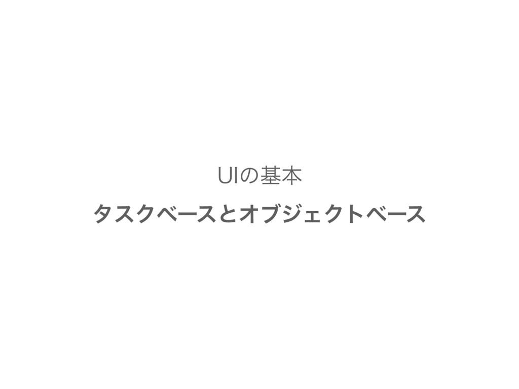 6*ͷجຊ λεΫϕʔεͱΦϒδΣΫτϕʔε