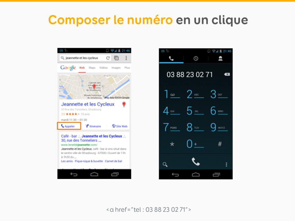 """<a href=""""tel : 03 88 23 02 71""""> Composer le num..."""