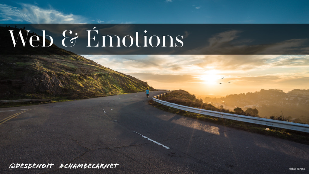 Web & Émotions Joshua Sortino @desbenoit #Chamb...
