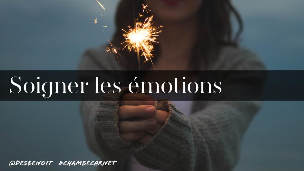 @desbenoit #ChambeCarnet Soigner les émotions