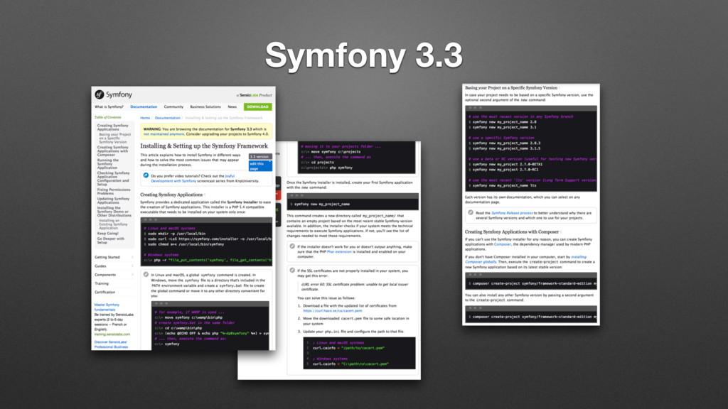 Symfony 3.3