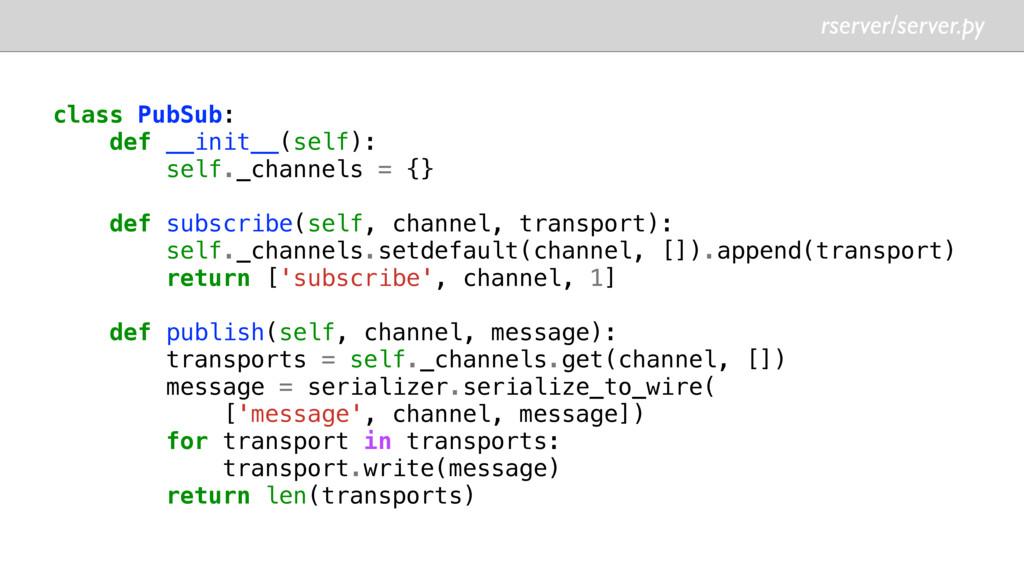 rserver/server.py class PubSub: def __init__(se...