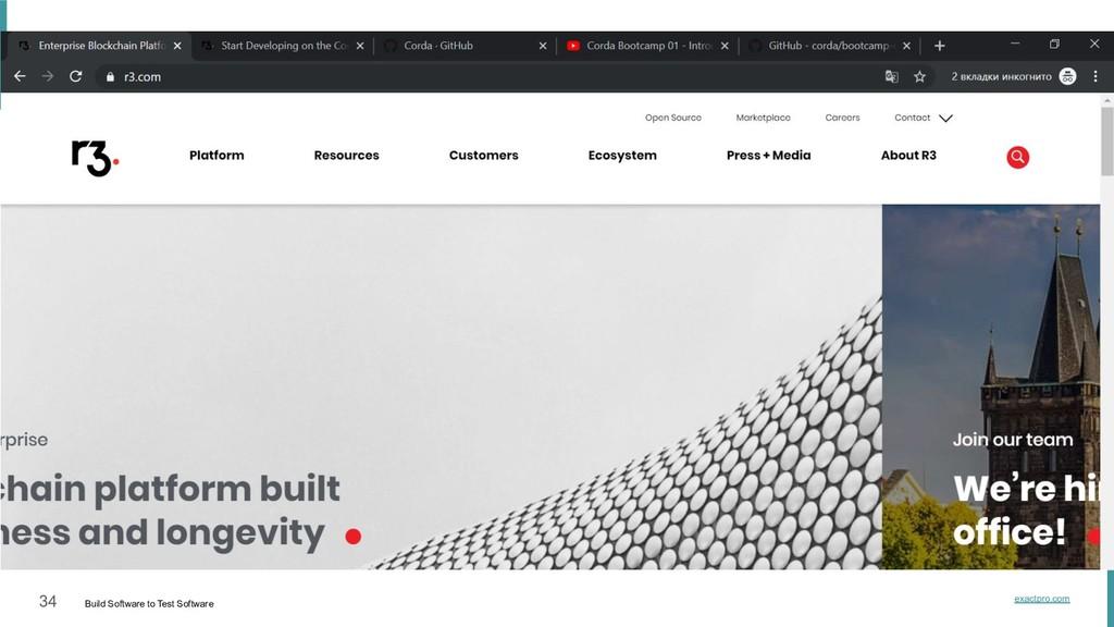 34 Build Software to Test Software exactpro.com...