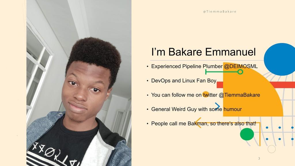 I'm Bakare Emmanuel • Experienced Pipeline Plum...