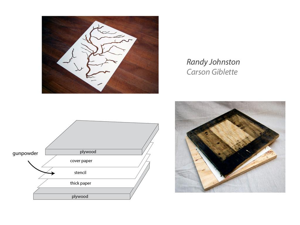 Randy Johnston Carson Giblette
