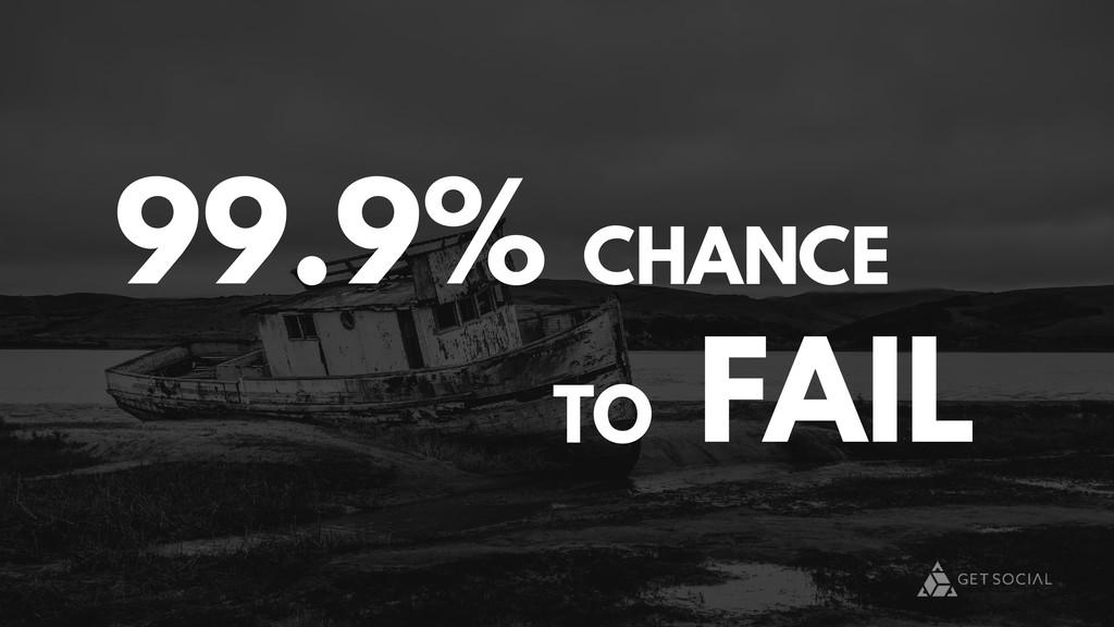 TO FAIL 99.9% CHANCE