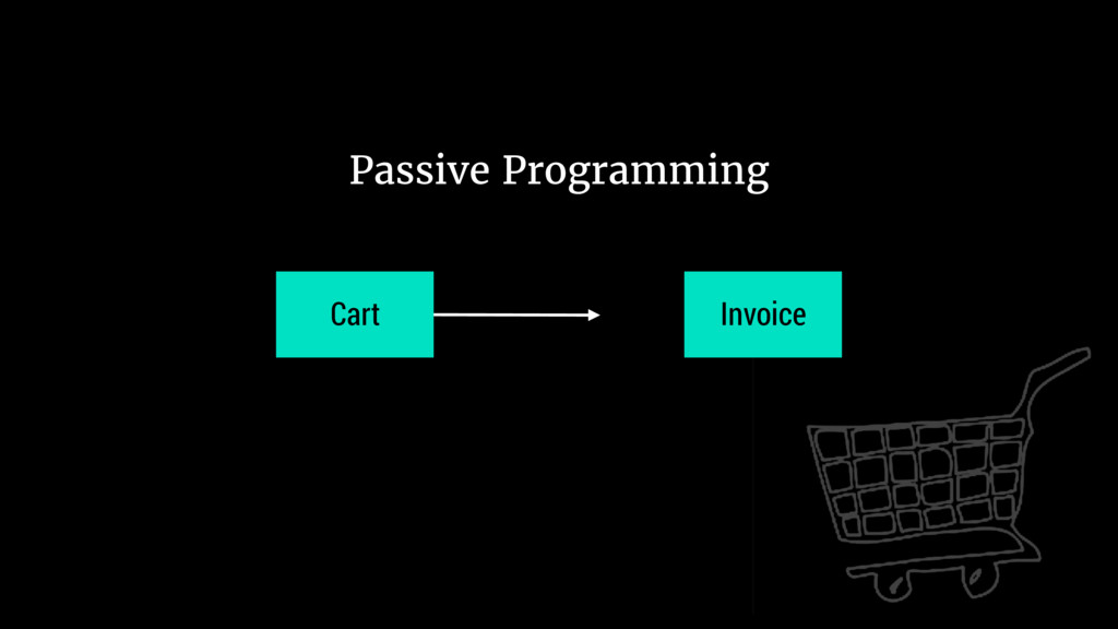 Cart Invoice Passive Programming