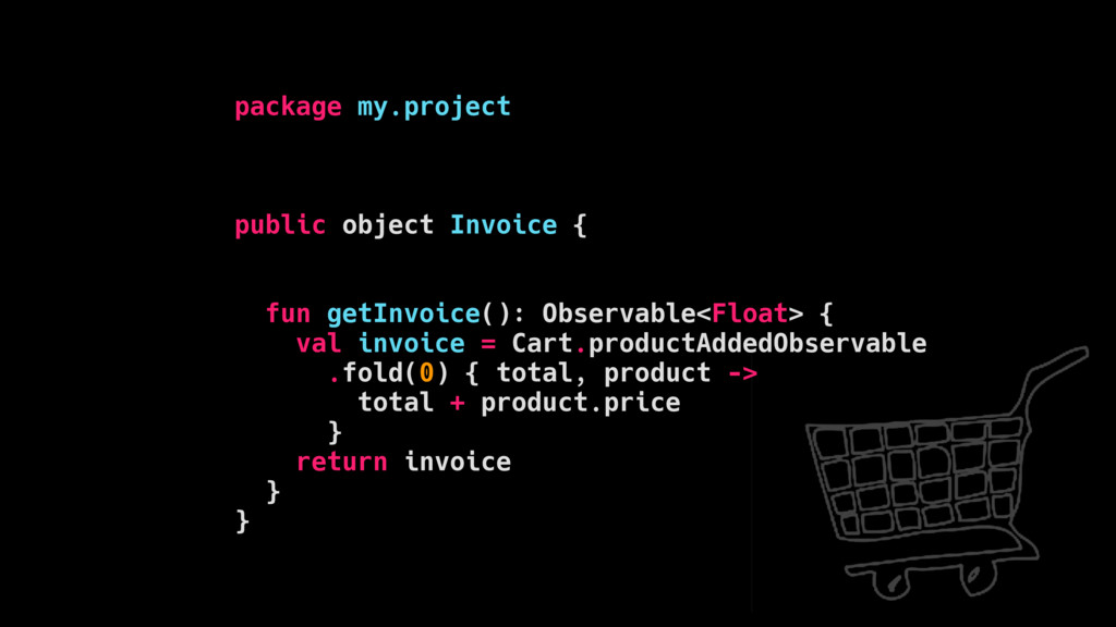 package my.project public object Invoice { fun ...