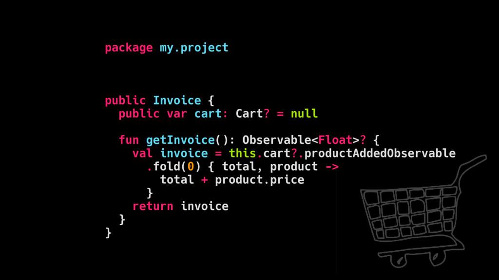 package my.project public Invoice { public var ...