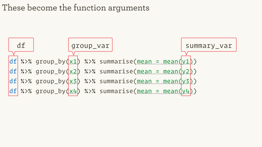 df %>% group_by(x1) %>% summarise(mean = mean(y...