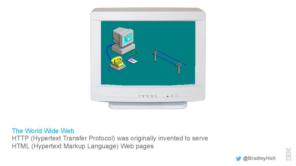 The World Wide Web HTTP (Hypertext Transfer Pro...