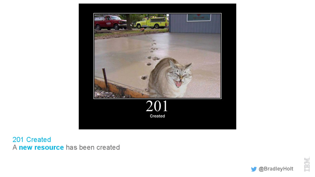 201 Created A new resource has been created @Br...