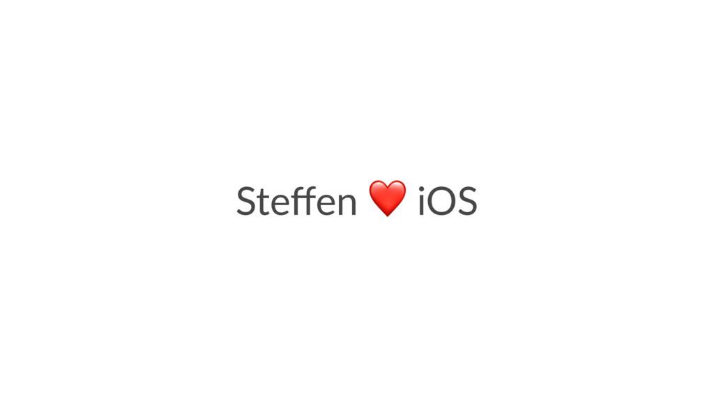 Steffen iOS