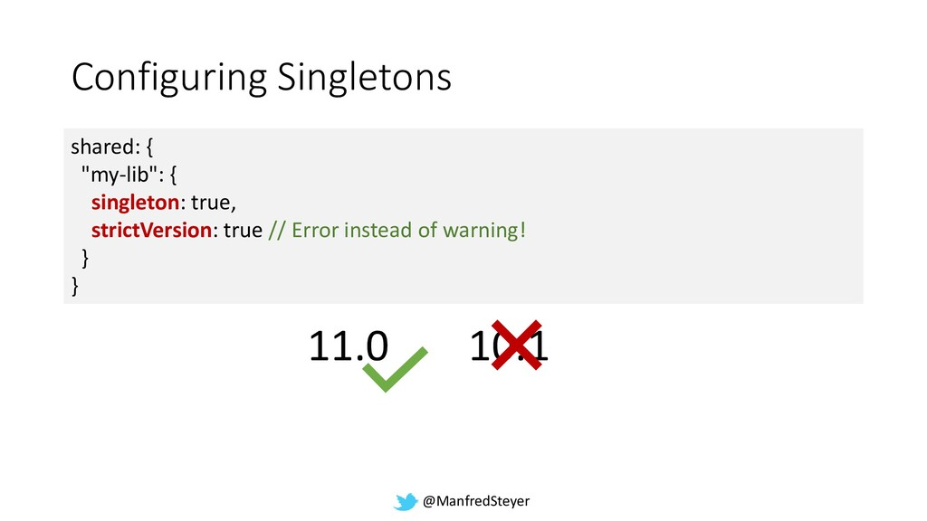 @ManfredSteyer Configuring Singletons shared: {...