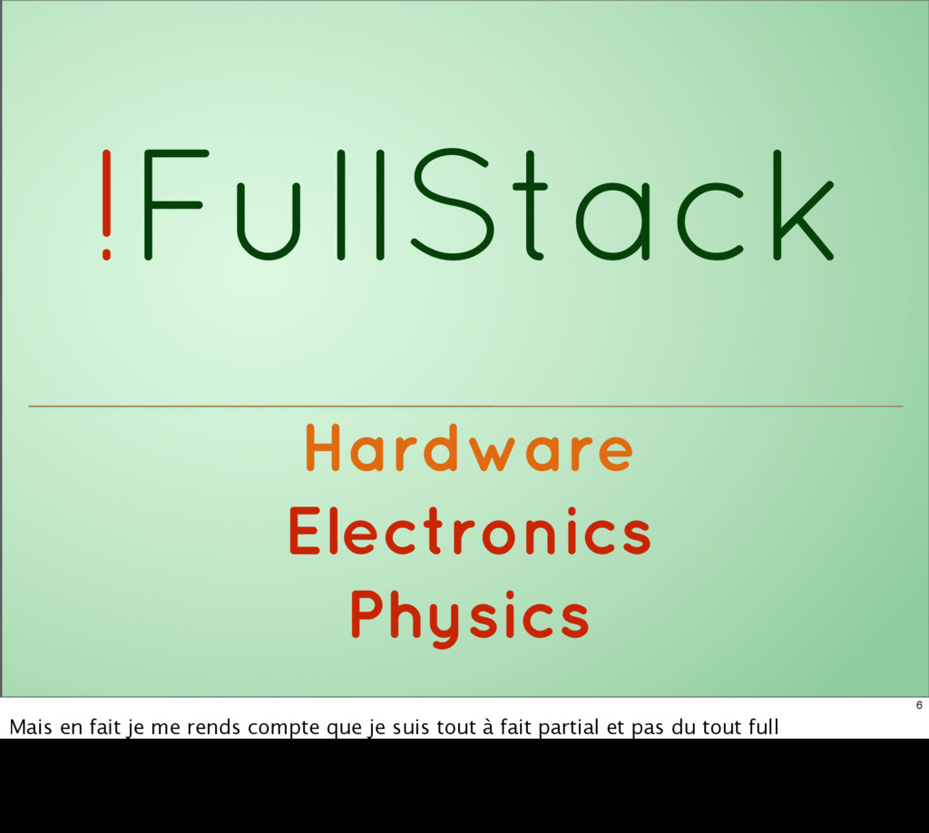 !FullStack Hardware Electronics Physics 6 Mais ...
