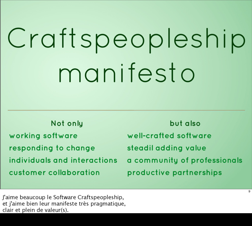 Craftspeopleship manifesto Not only but also wo...
