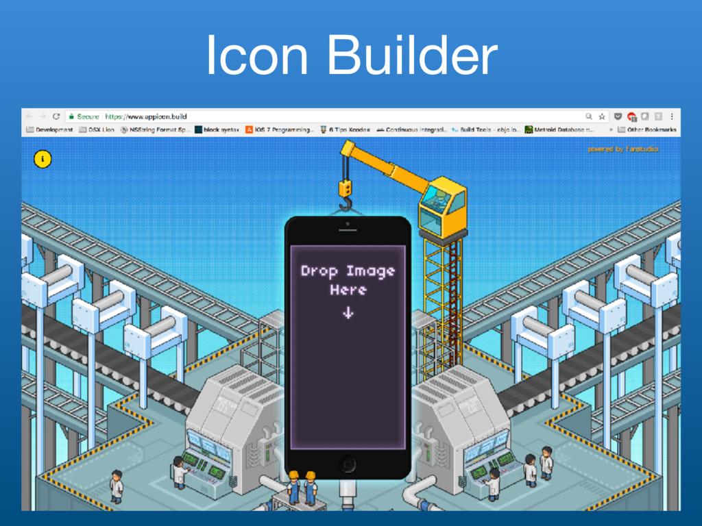Icon Builder