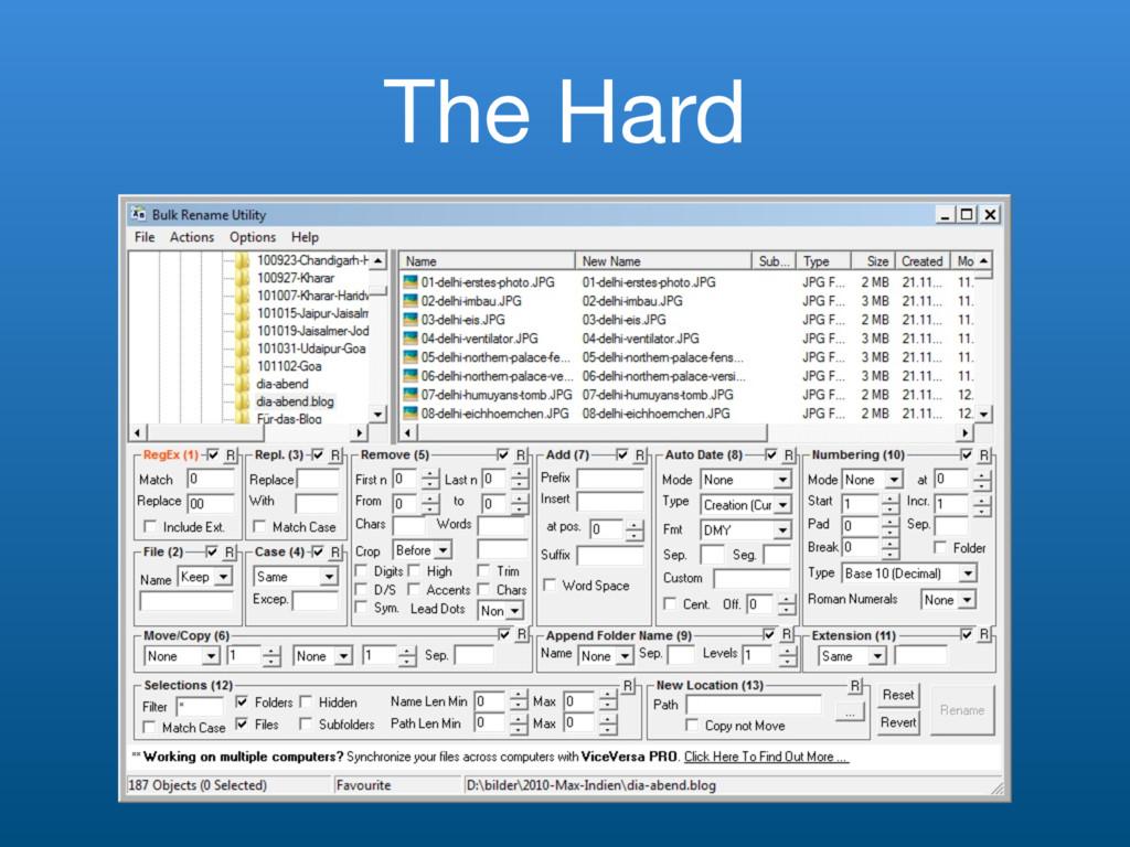 The Hard