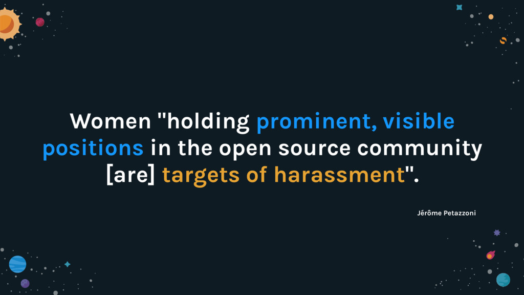 """Women """"holding prominent, visible positions in ..."""