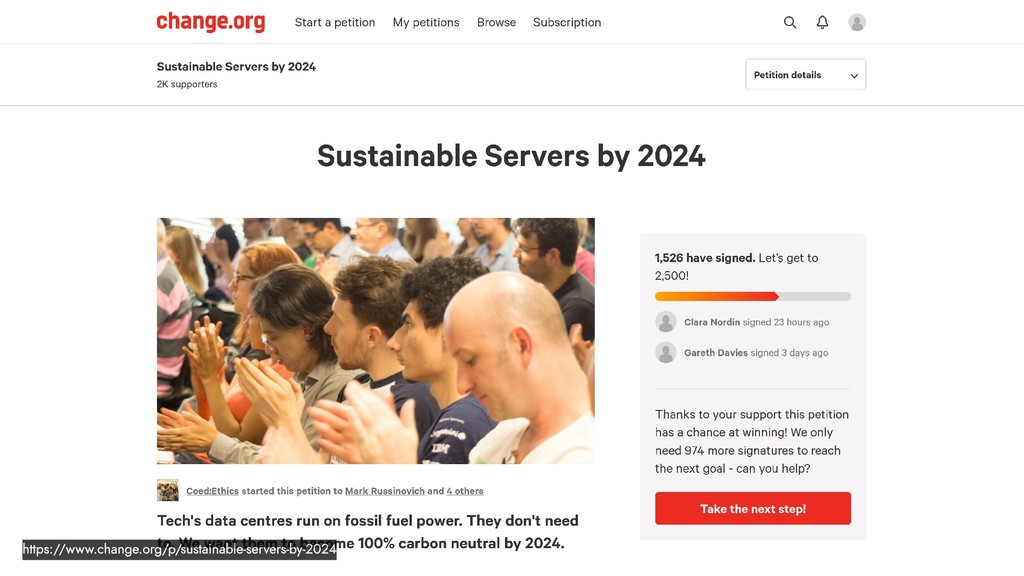 https://www.change.org/p/sustainable-servers-by...