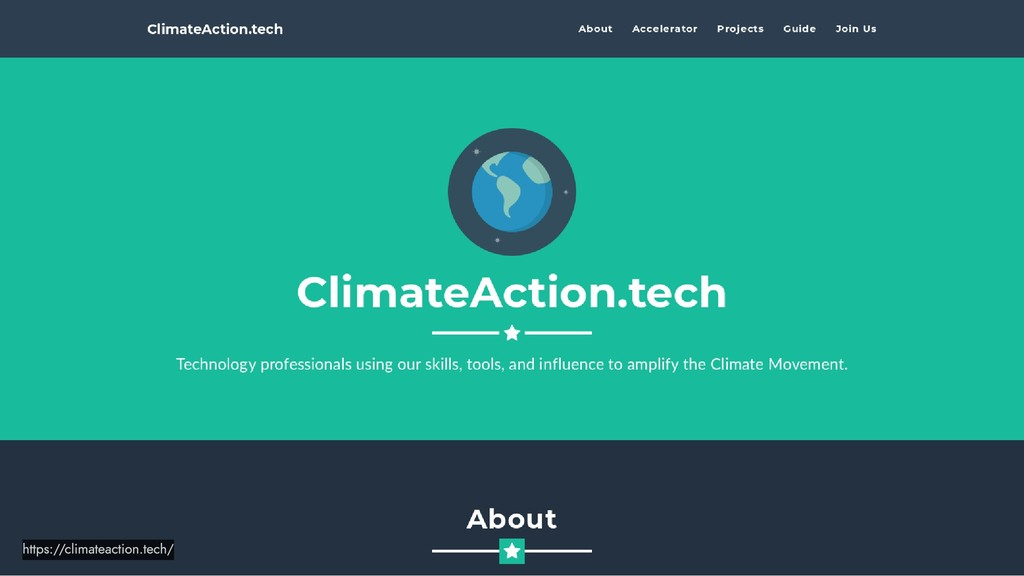 https://climateaction.tech/