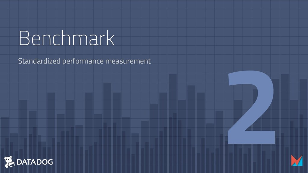 Benchmark Standardized performance measurement 2